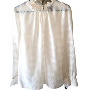 - Sheer Lined Blouse